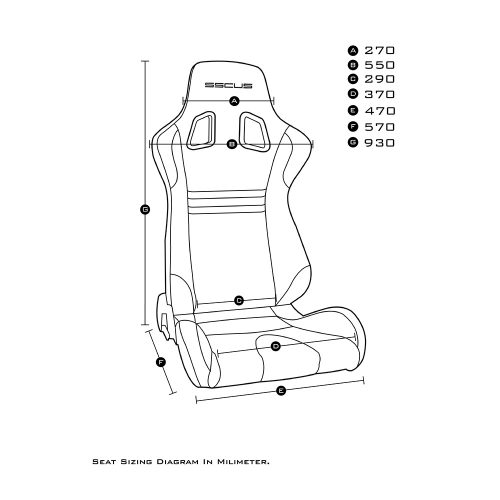 Sport Seat DW-EVO Measurement